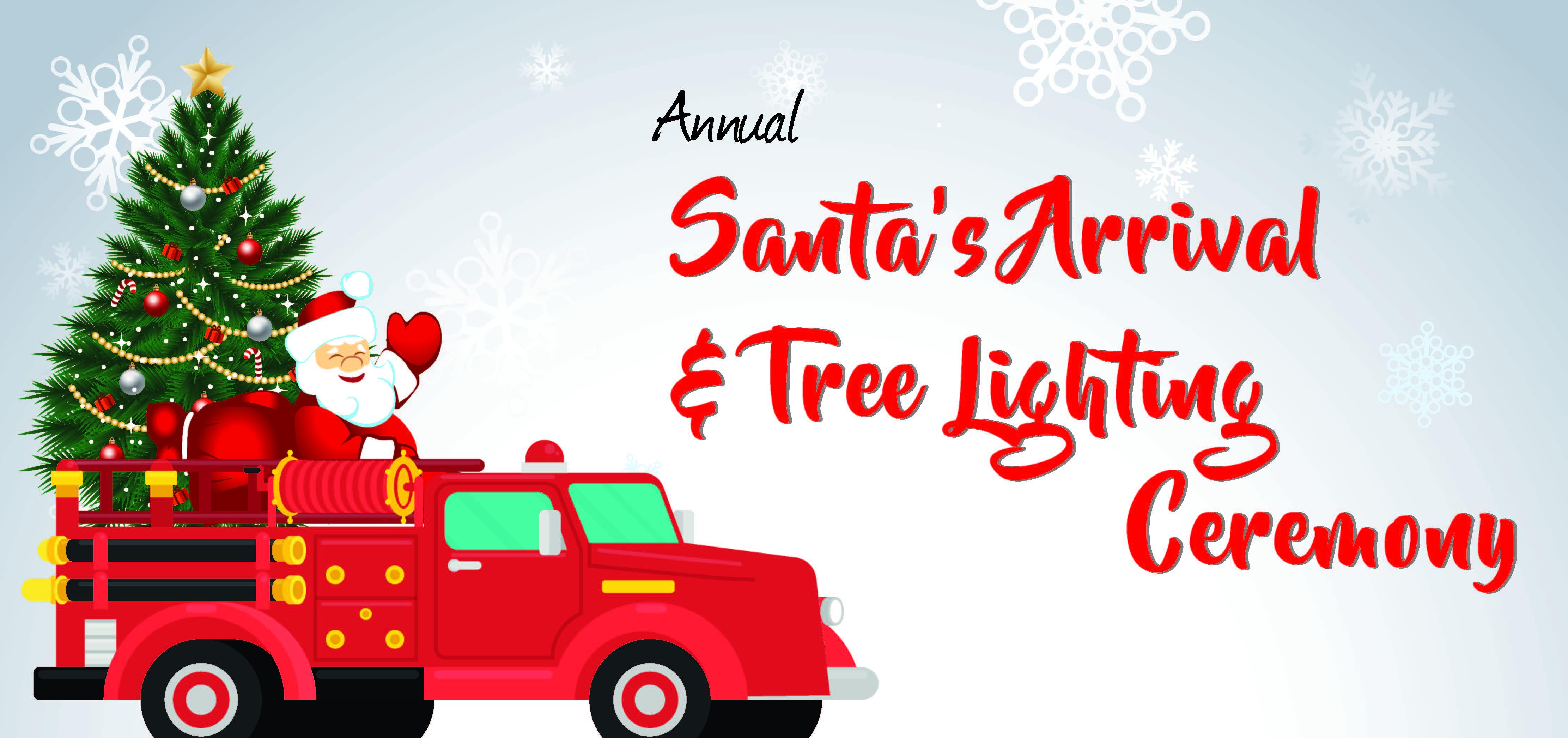 Tree Ligting Flyer Calendar Image